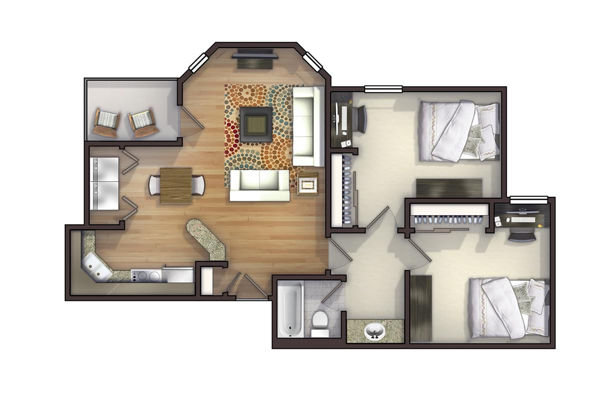 Rents Floor Plans