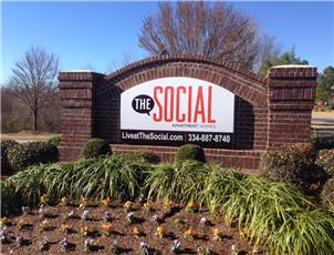 The Social apartment in Auburn, AL